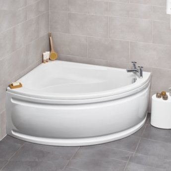 Prestige Formula Offset Corner Bath 1500mm x 1040mm Left Hand