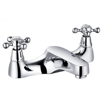 Prestige Friars Bath Filler Tap Deck Mounted - Chrome