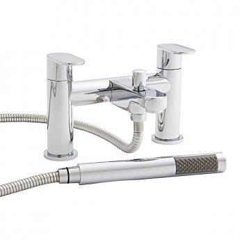 Prestige Grenada Bath Shower Mixer Tap Deck Mounted - Chrome