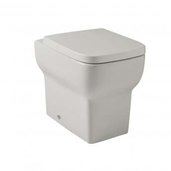Prestige Korsika Back to Wall Toilet WC - Soft Close Seat