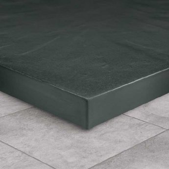 Carona KT35 Rectangular Shower Tray with Fast Flow Waste 1200mm x 800mm Stone Resin