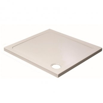 Prestige KT35 Square Shower Tray with Waste 900mm x 900mm Stone Resin