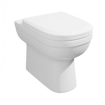 Prestige Lifestyle Back to Wall Toilet WC - Premium Soft Close Seat