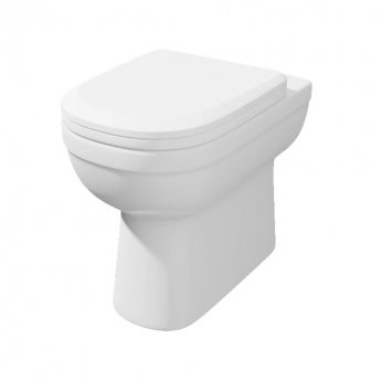 Prestige Lifestyle Comfort Height Back to Wall Toilet WC - Premium Soft Close Seat