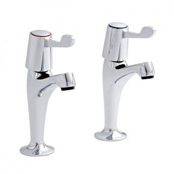 Prestige Memphis HN Kitchen Sink Taps Pair Chrome