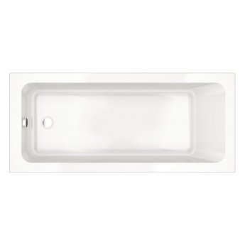 Prestige Options Rectangular Acrylic Bath 1700mm x 700mm Single Ended
