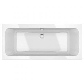 Prestige Options Rectangular - Acrylic Bath 1700mm x 750mm Double Ended