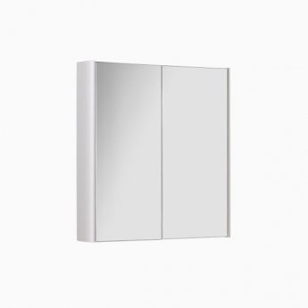 Prestige Options Mirror Cabinet 600mm Wide White