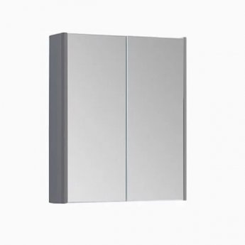 Prestige Options Mirror Cabinet 500mm Wide Basalt Grey