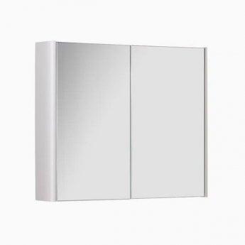 Prestige Options Mirror Cabinet 800mm Wide White
