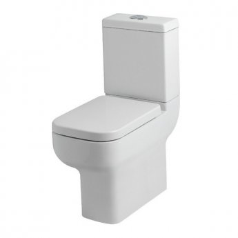Prestige Options Close to Wall Close Coupled Toilet with Cistern - Soft Close Seat