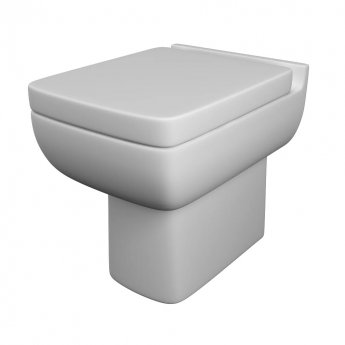 Prestige Options Back to Wall Toilet WC - Soft Close Seat