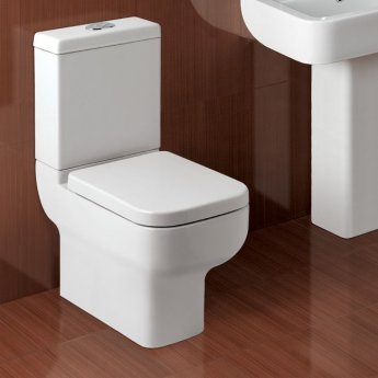 Prestige Options Comfort Height Toilet WC with Cistern - Soft Close Seat