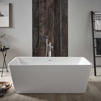 Prestige Pure Modern Freestanding Bath 1700mm x 800mm - Acrylic