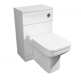 Prestige Pure Back to Wall Toilet Unit with Cistern and Soft Close Seat
