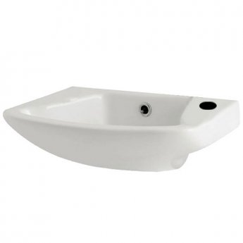 Prestige Uranus Cloakroom Basin 465mm Wide 1 Tap Hole
