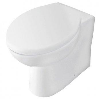 Prestige Uranus Back to Wall Toilet WC Pan Soft Close Seat