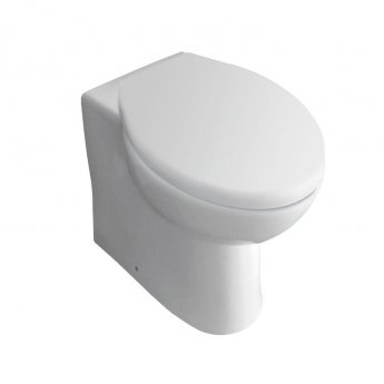 Prestige Uranus Back to Wall Toilet WC Pan with Concealed Cistern - Soft Close Seat