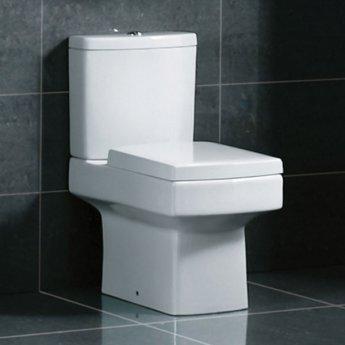 Prestige Venus Close Coupled Toilet WC Dual Flush Cistern - Soft Close Seat