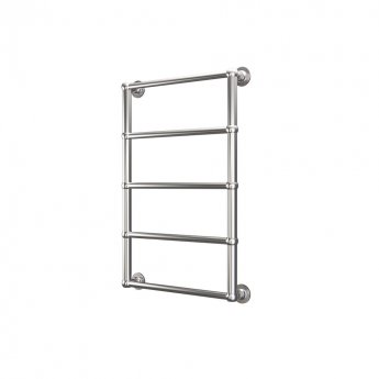 Radox Edwardian Traditional Heated Towel Rail 920mm H x 600mm W Chrome