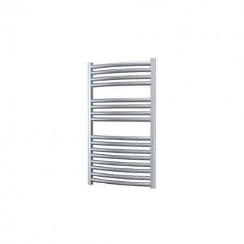 Radox Premier Curved Heated Towel Rail 800mm H x 500mm W - White