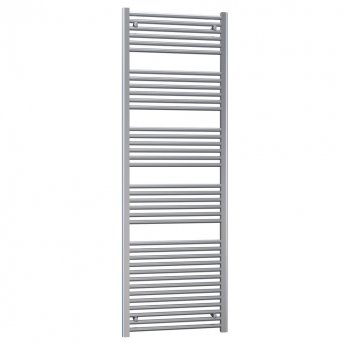 Radox Premier Straight Heated Towel Rail 800mm H x 500mm W - White