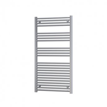 Radox Premier Flat Straight Heated Towel Rail 1200mm H x 300mm W - Chrome