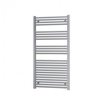 Radox Premier Straight Heated Towel Rail 1200mm H x 400mm W - Chrome