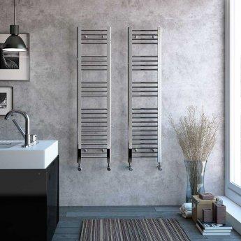 Radox Premier Straight Heated Towel Rail 1200mm H x 500mm W - White
