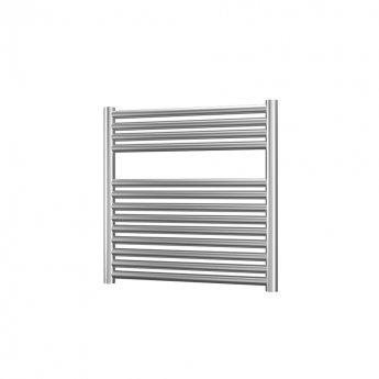 Radox Premier XL Straight Horizontal Heated Towel Rail 600mm H x 750mm W - Stainless Steel
