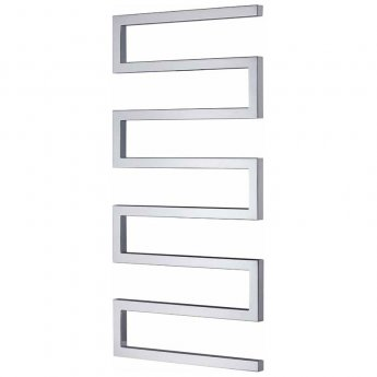 Radox Serpentine Designer Heated Towel Rail 730mm H x 500mm W Chrome