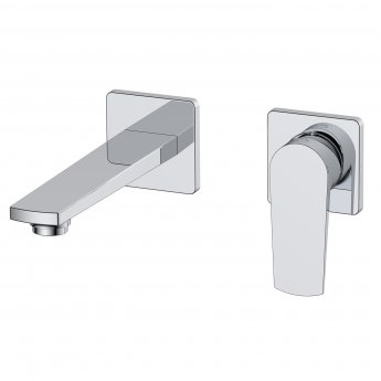 RAK Blade Wall Mounted Basin Mixer Tap - Chrome