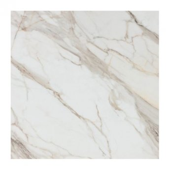 RAK Calacatta Full Lappato Tiles - 1200mm x 1200mm - White (Box of 2)