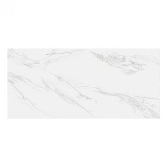 RAK Classic Carrara Full Lappato 6mm Tiles - 1200mm x 2600mm - Hyper White (Box of 1)