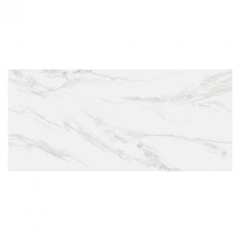 RAK Classic Carrara Full Lappato Open Book A Tiles - 1350mm x 3050mm - Hyper White (Box of 1)