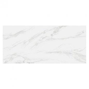 RAK Classic Carrara Full Lappato Open Book B Tiles - 1350mm x 3050mm - Hyper White (Box of 1)