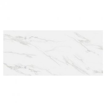 RAK Classic Carrara Full Lappato Open Book C Tiles - 1350mm x 3050mm - Hyper White (Box of 1)