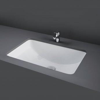 RAK Cleo Inset Countertop Wash Basin 515mm Wide - 0 Tap Hole