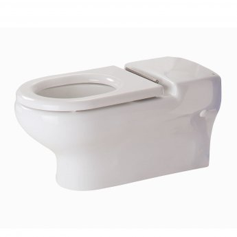 RAK Compact Special Needs Wall Hung Toilet WC 700mm Projection - Ring Seat