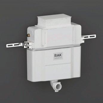 RAK Ecofix Top/Front Access Concealed Toilet Cistern 820mm H x 404mm W x 200mm D - White