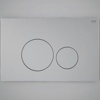 RAK Ecofix Round Dual Flush Plates - White