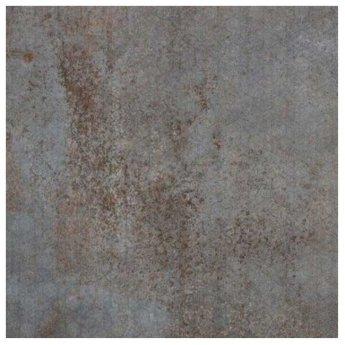 RAK Evoque Metal Lapatto Decor Tiles - 600mm x 600mm - Grey (Box of 4)