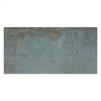 RAK Evoque Metal Lapatto Decor Tiles - 600mm x 1200mm - Green Grey (Box of 2)