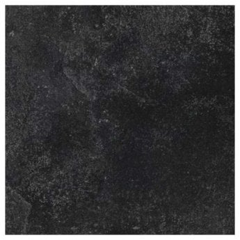 RAK Fashion Stone Matt R11 Tiles - 600mm x 600mm - Black (Box of 4)