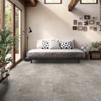 RAK Fusion Stone Lapatto Tiles - 600mm x 600mm - Greige (Box of 4)