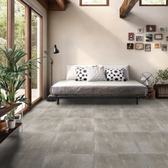 RAK Fusion Stone Lapatto Tiles - 50mm x 600mm - Greige (Box of 36)