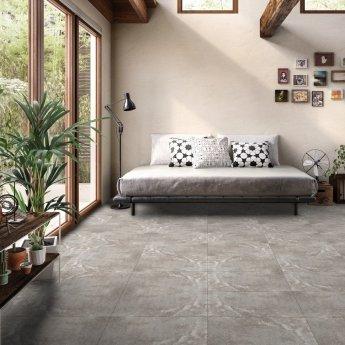 RAK Fusion Stone Lapatto Tiles - 150mm x 600mm - Greige (Box of 12)