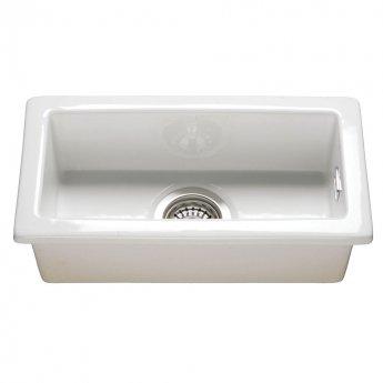 RAK Gourmet 7 Ceramic Belfast Kitchen Sink 1.0 Bowl 475mm L x 250mm W - White
