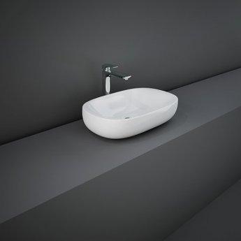 RAK Illusion Countertop Wash Basin 600mm Wide - Alpine White