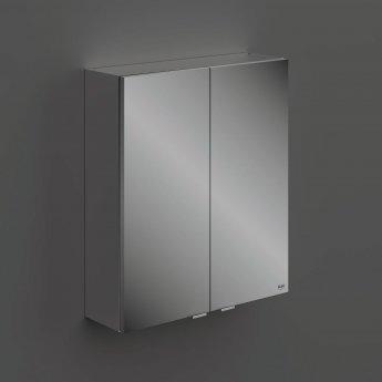 RAK Joy 2 Doors Wall Hung Mirror Cabinet 600mm Wide